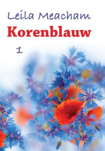 Korenblauw - grote letter uitgave
