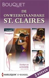De onweerstaanbare St. Claires (3-in-1)