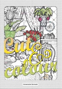 Cut & Colour kleurboek voor volwassenen