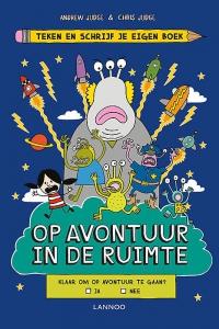 Teken en schrijf je eigen boek - Op avontuur in de ruimte