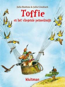 Toffie en het vliegende penseelzwijn