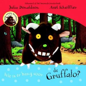 Wie is er bang voor de Gruffalo? Handpopboek