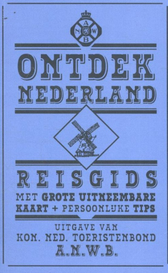 Limited Edition Retro ANWB Ontdek Nederland