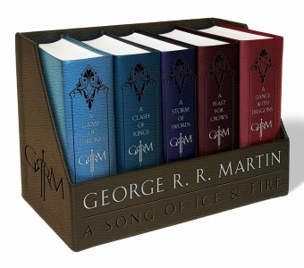 Game of thrones leather-cloth boxed set