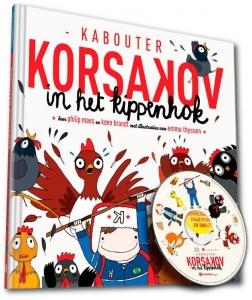 Kabouter Korsakov in het kippenhok (Boek + CD)