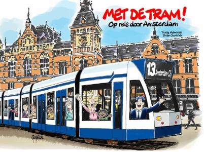 Met de tram!