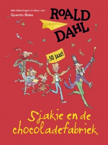 Sjakie en de chocoladefabriek - gouden jub.ed.