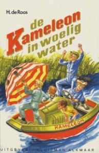de Kameleon in woelig water