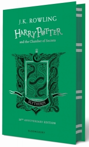 Harry potter (02): harry potter and the chamber of secrets - slytherin edition