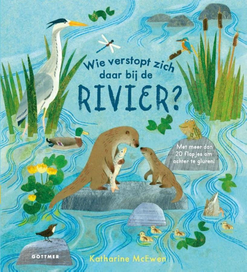 Wie verstopt zich daar bij de rivier?