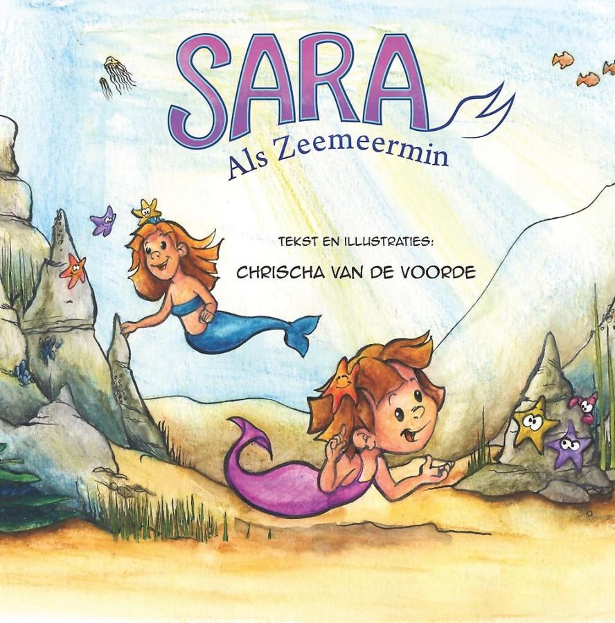 Sara als zeemeermin
