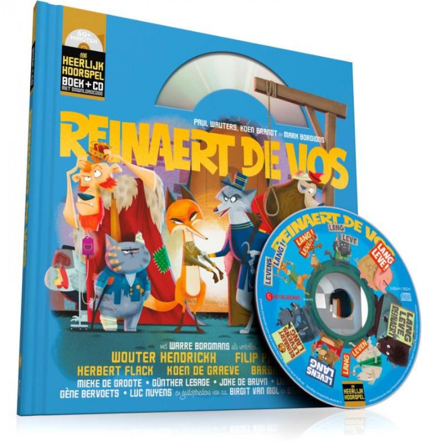 Reinaert de Vos (Boek + CD)