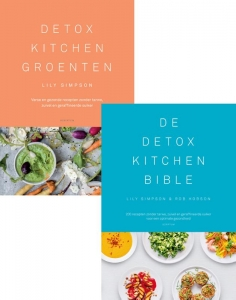 Combipakket Detox Kitchen Groenten & Detox Kitchen Bible