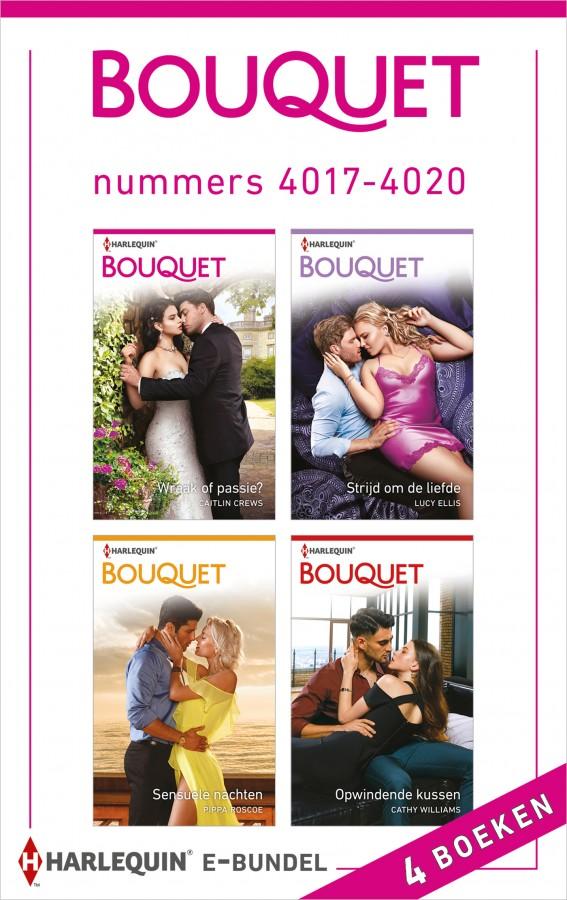 Bouquet e-bundel nummers 4017 - 4020