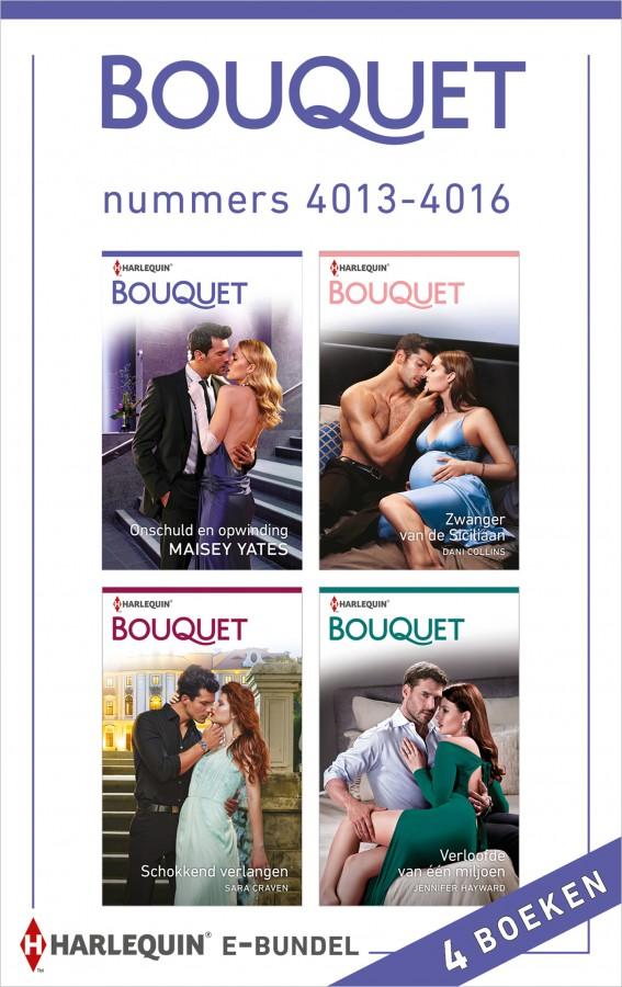 Bouquet e-bundel nummers 4013 - 4016
