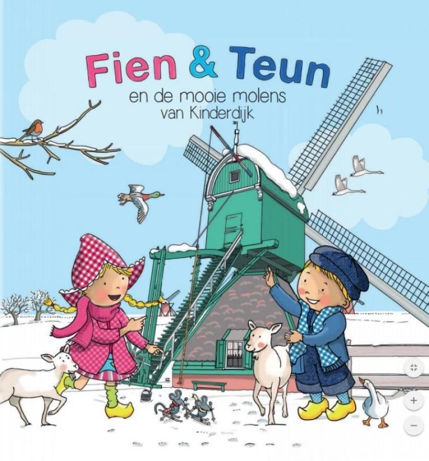 Fien & Teun en de Mooie Molens van Kinderdijk