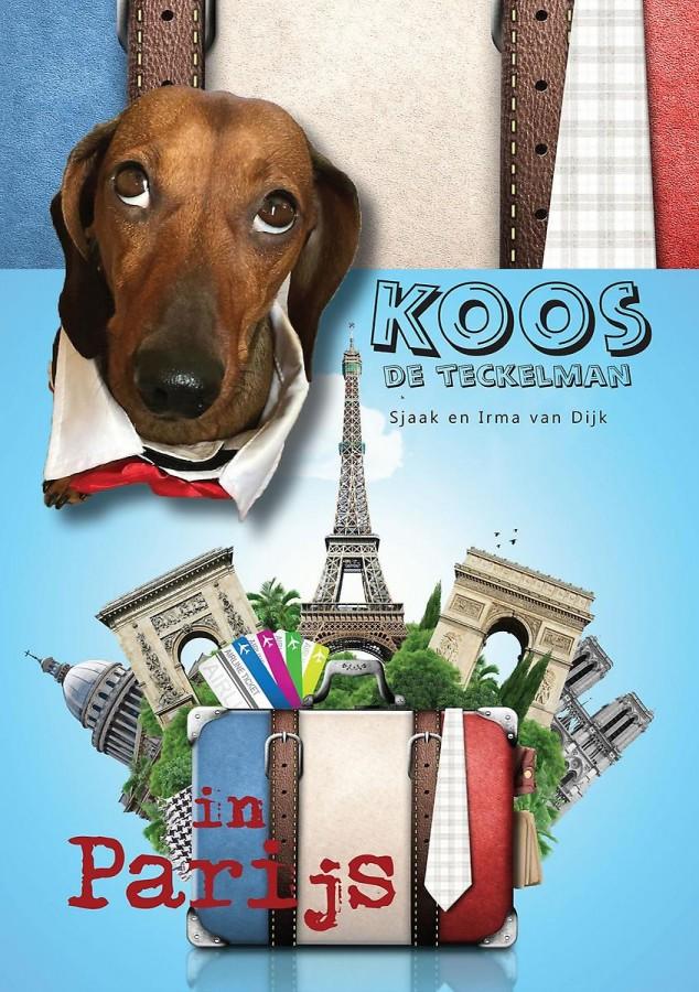 Koos de Teckelman in Parijs
