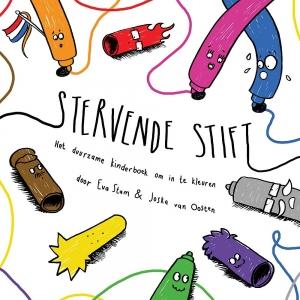 Stervende stift - Het duurzame kinderboek om in te kleuren