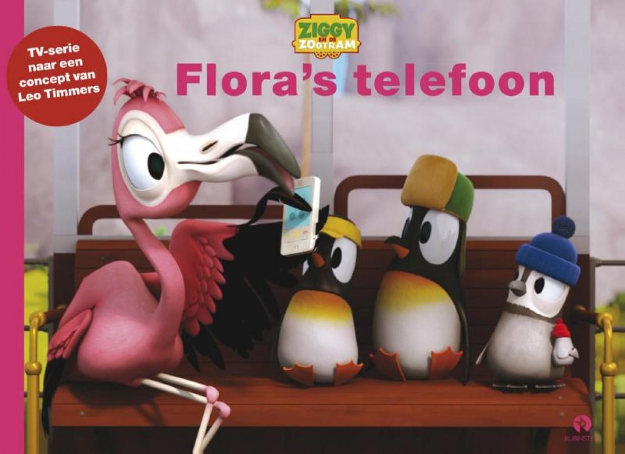 Ziggy en de Zootram: Flora's telefoon