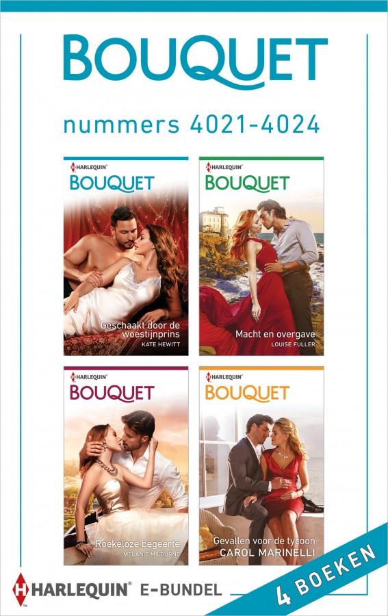 Bouquet e-bundel nummers 4021 - 4024