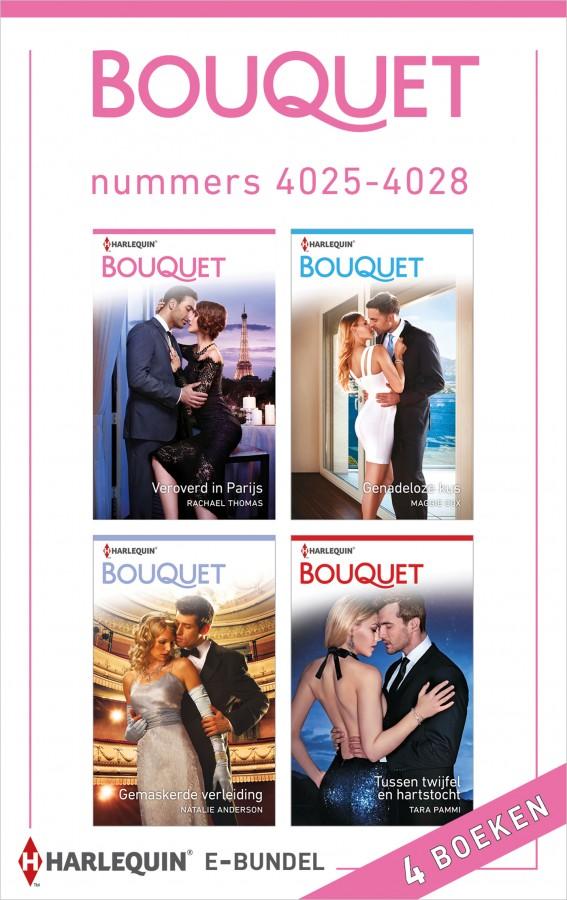 Bouquet e-bundel nummers 4025 - 4028