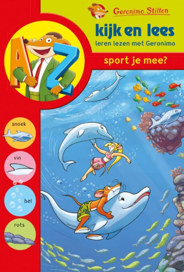 Geronimo Stilton - Kijk en lees: Sport je mee? (AVI start - M3)
