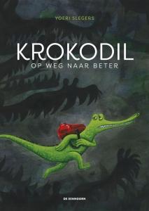 Krokodil op weg naar beter