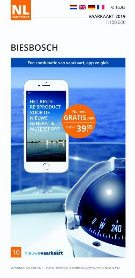 NLWaterland app incl. vaarkaart Biesbosch 2019