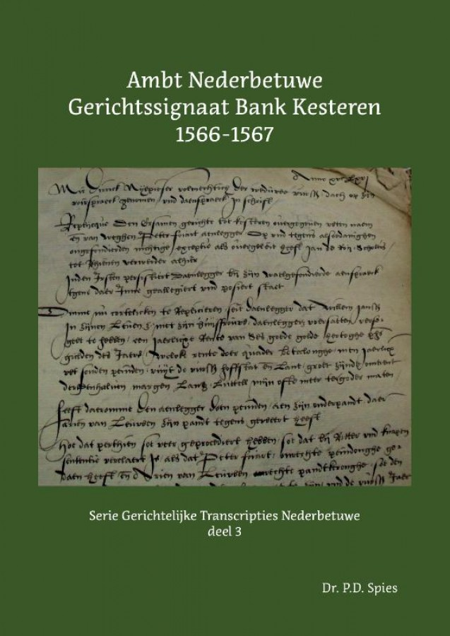 Ambt Nederbetuwe Gerichtssignaat Kesteren 1566-1567