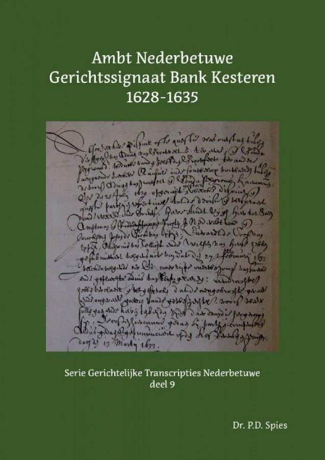 Ambt Nederbetuwe Gerichtssignaat Kesteren 1628-1635