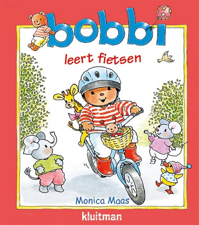 bobbi leert fietsen