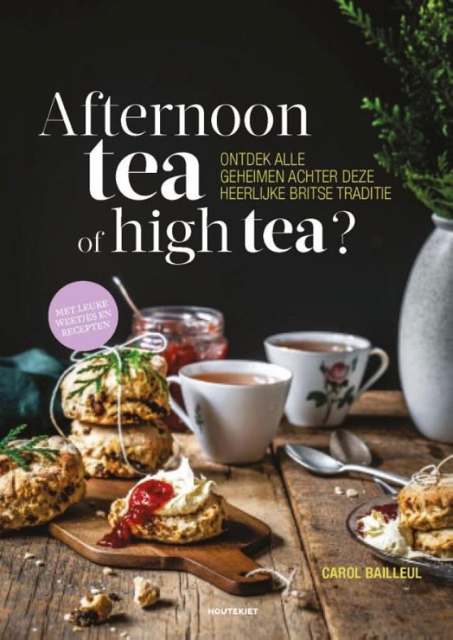 Afternoon tea of high tea?