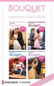 Bouquet e-bundel nummers 4045 - 4048