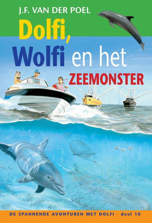 Dolfi en Wolfi en het zeemonster deel 10