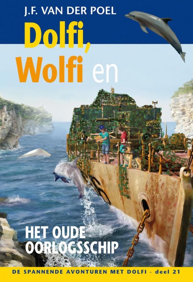 Dolfi Wolfi en het oude oorlogsschip deel 21