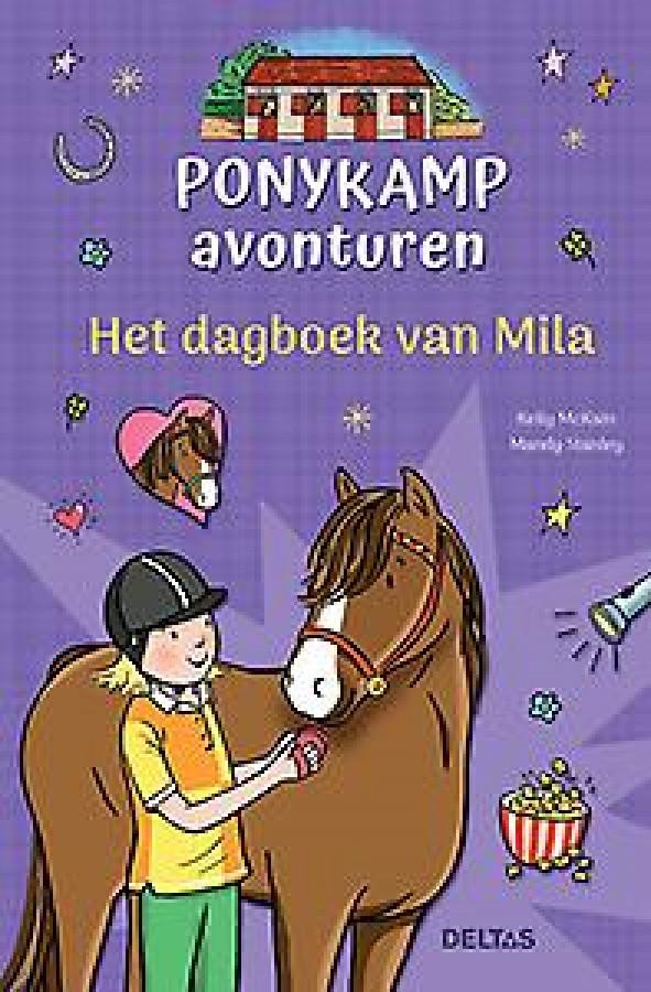 Ponykamp avonturen - Het dagboek van Mila