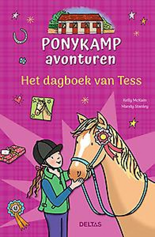 Ponykamp avonturen - Het dagboek van Tess