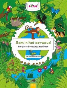Sam in het oerwoud. Het grote bewegingszoekboek