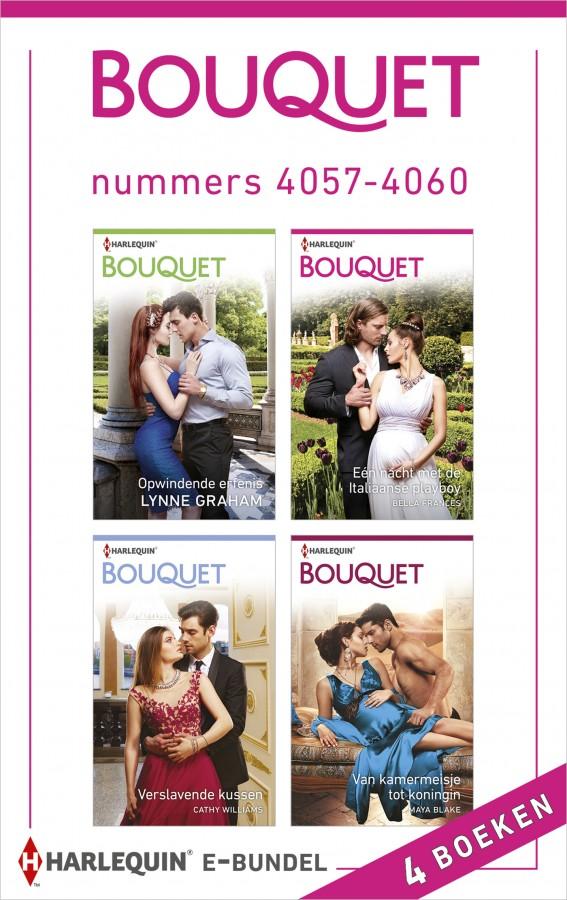Bouquet e-bundel nummers 4057 - 4060