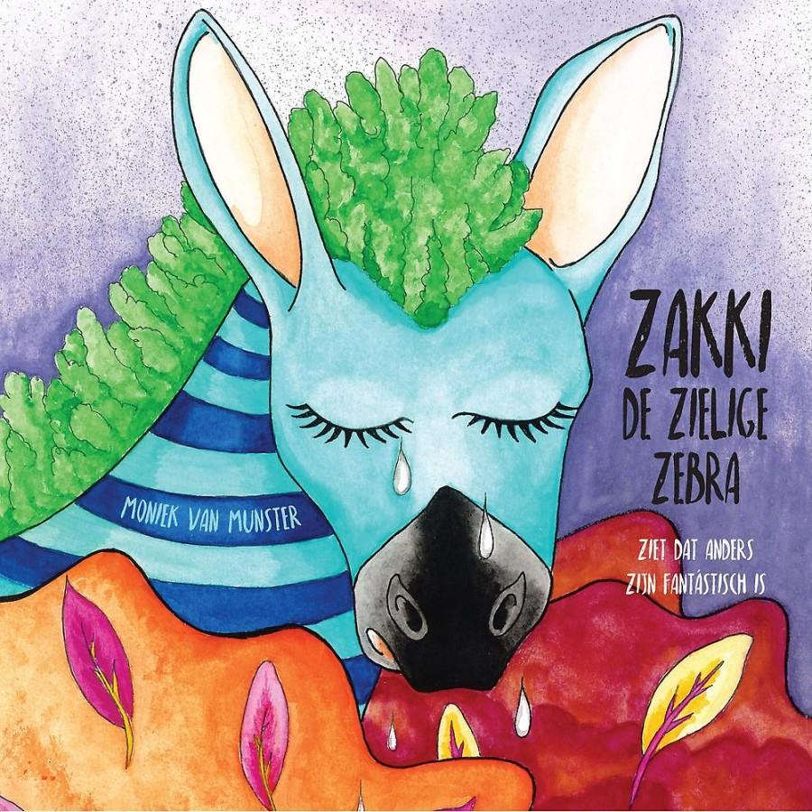 Zakki de zielige zebra - ziet dat anders zijn fantástisch is