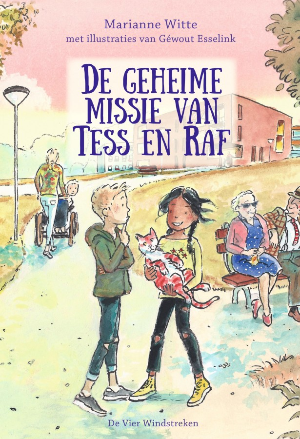E-book, De geheime missie van Tess en Raf