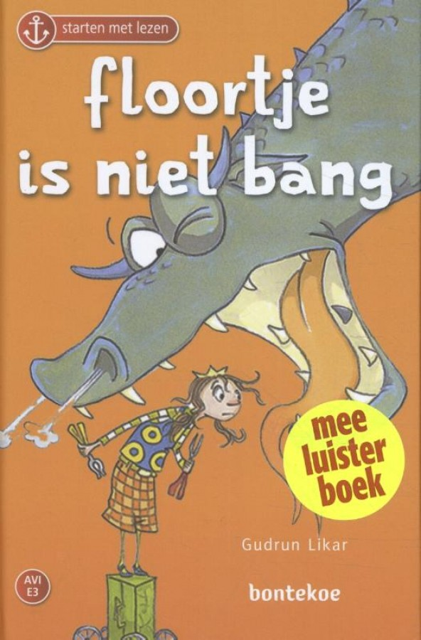 Floortje is niet bang - Meeluisterboek