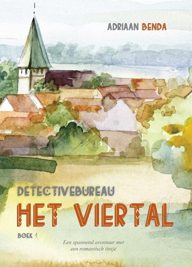 Detectivebureau Het Viertal deel 1 - Een spannend avontuur met een romantisch tintje