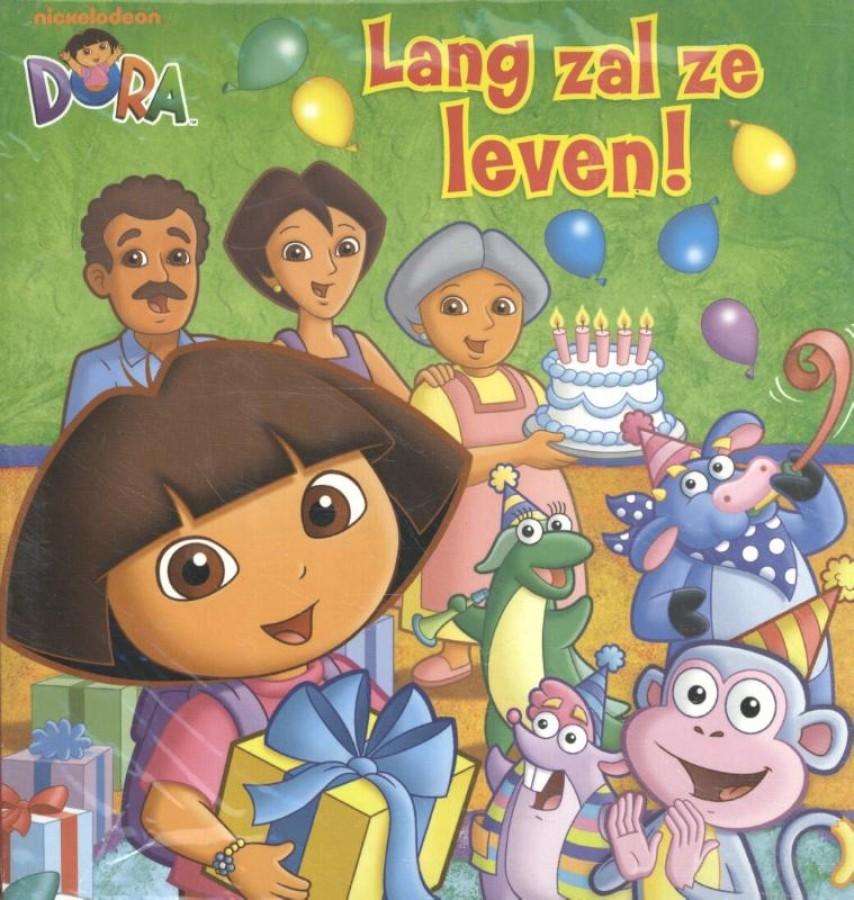 Dora kartonboeken pakket van 2 titels