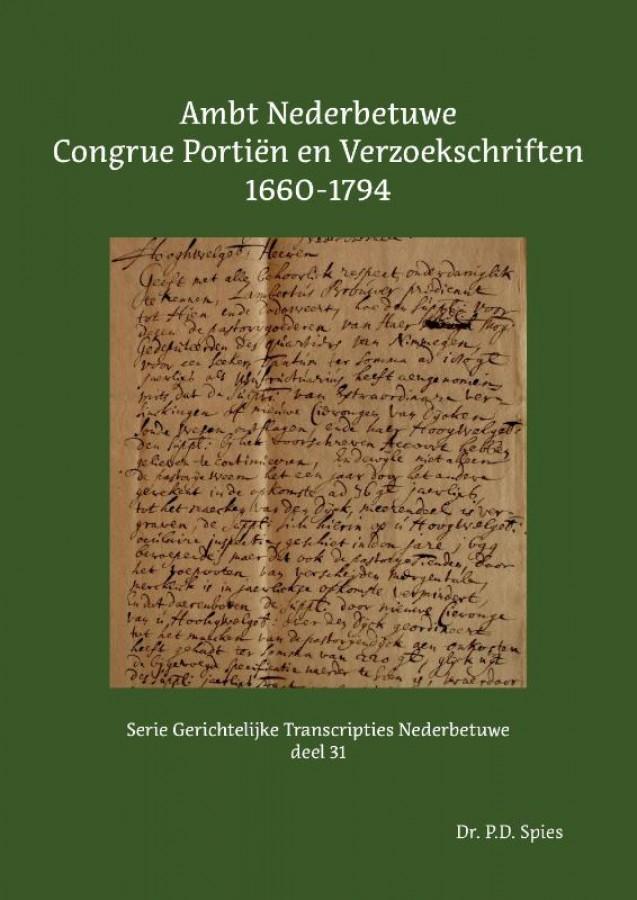 Ambt Nederbetuwe Congrue Portiën en Verzoekschriften 1660-1794