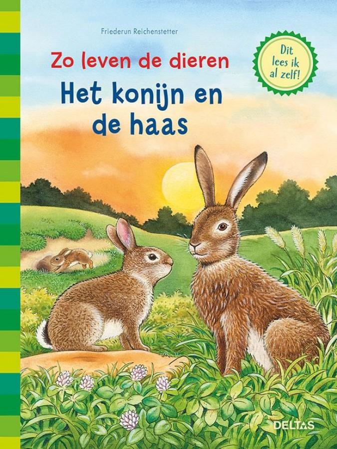 Zo leven de dieren - Het konijn en de haas