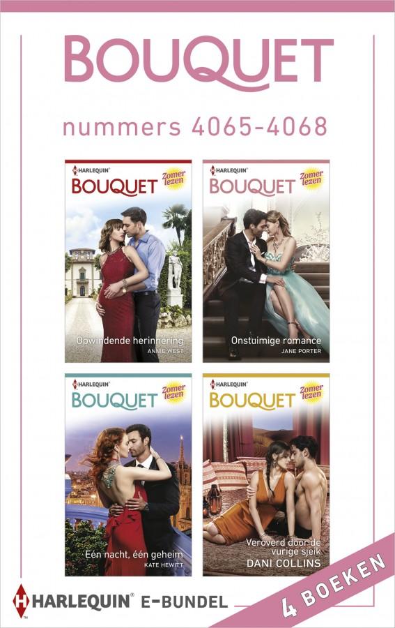 Bouquet e-bundel nummers 4065 - 4068