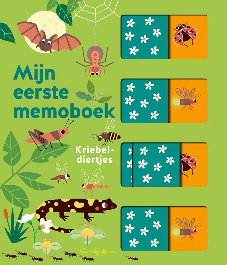 Mijn eerste memoboek Kriebeldiertjes