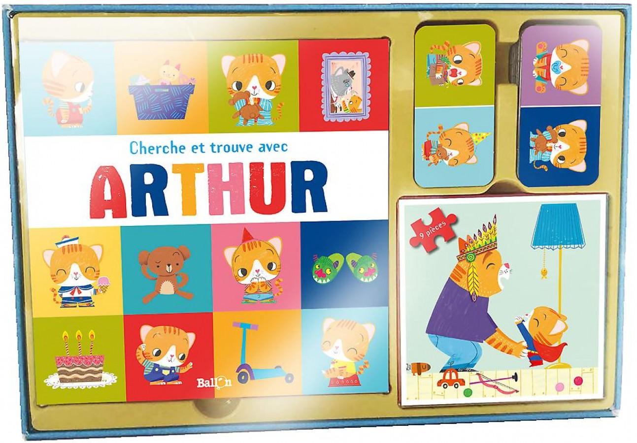 Mon coffret multi-activités Arthur