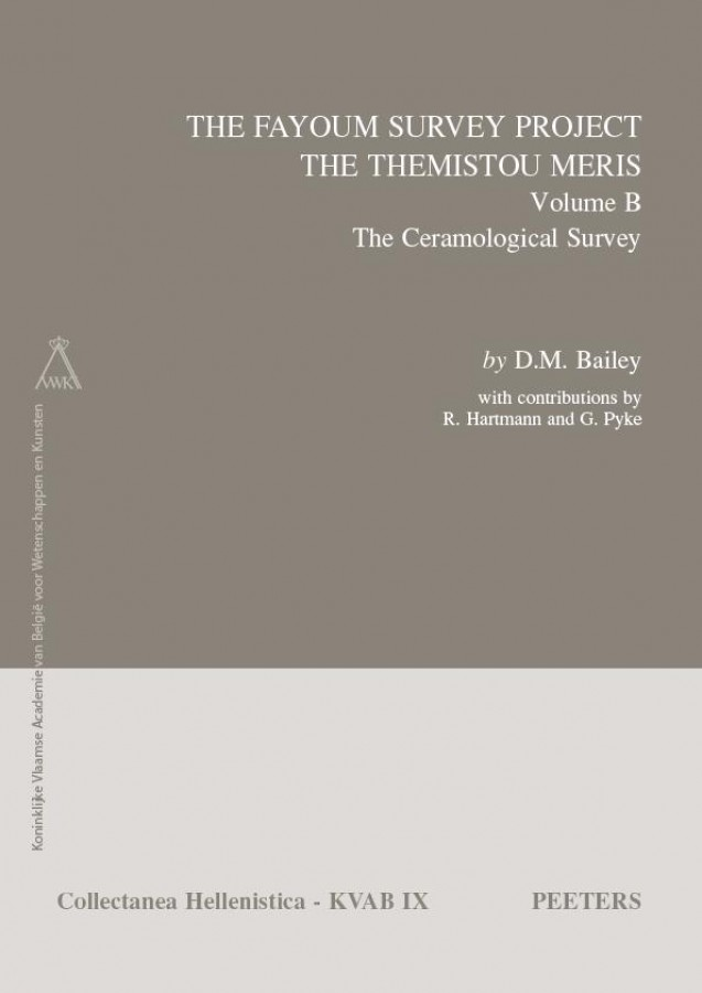 The Fayoum Survey: The Themistou Meris. Volume B